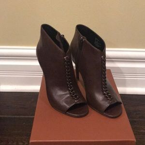 Coach Olie Soft Shine Calf Booties